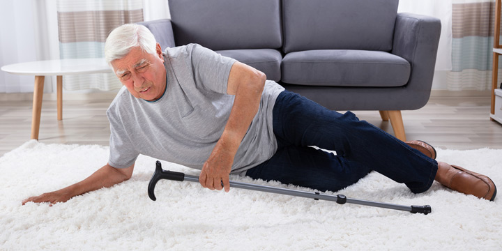 Elderly Man Falling
